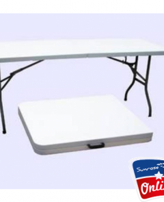 Plastic Folding Table (6 Foot)