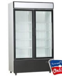 Commercial Cooler Double Door (Sliding Door)
