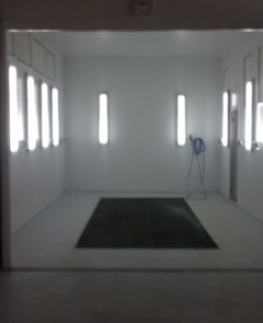 SPRAY BOOTHS / EXTRACTORS / MIX ROOMS / PREP AREAS -BUDGET TO FULL SPEC