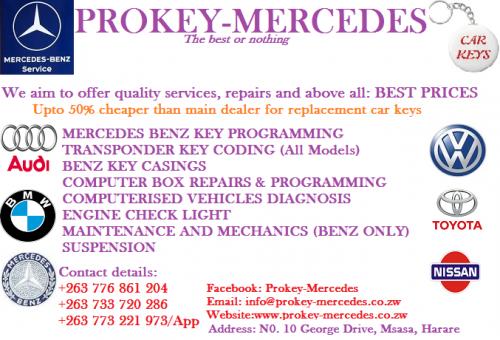 Mercedes Benz Key Programming & Diagnostics